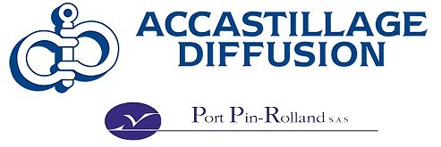 Logo Accastillage Diffusion Port Pin Rolland